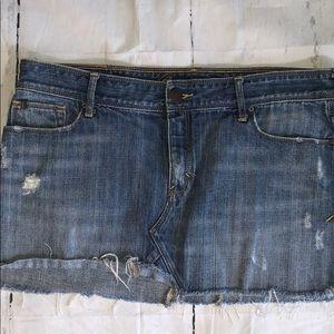 Abercrombie and Fitch denim mini skirt sz 8